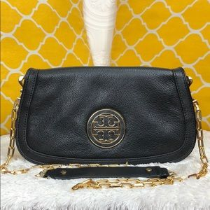 🌸OFFERS?🌸Tory Burch Pebbled Leather 2in1 Crssbdy